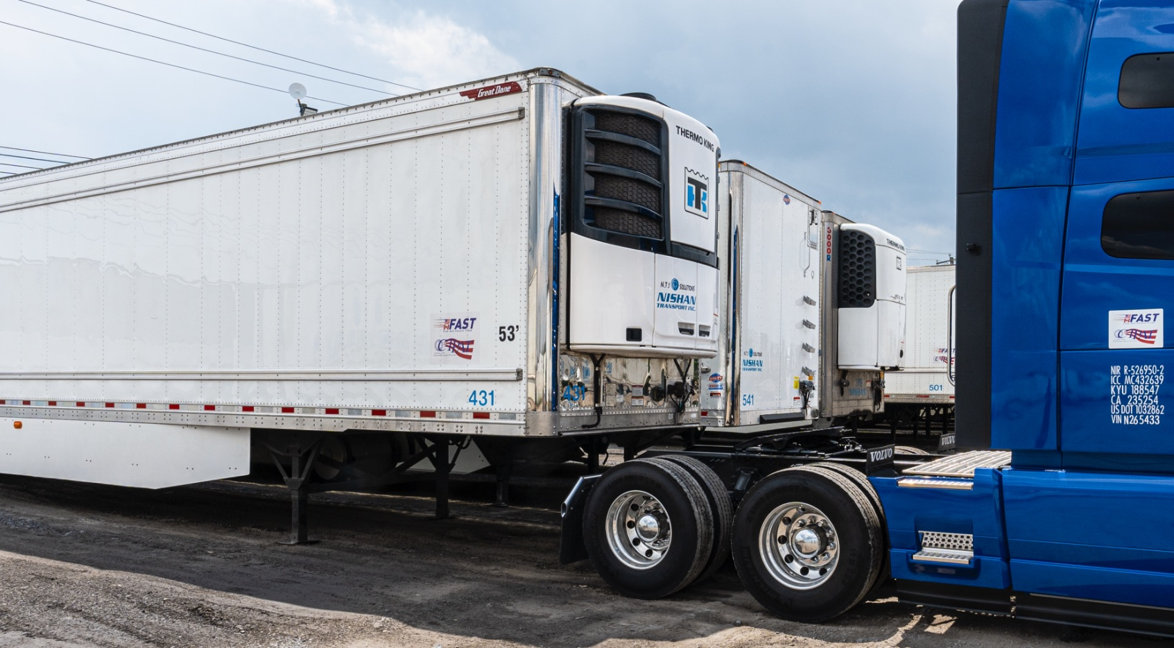 Refrigerated Freight | Temperature-controlled trailer