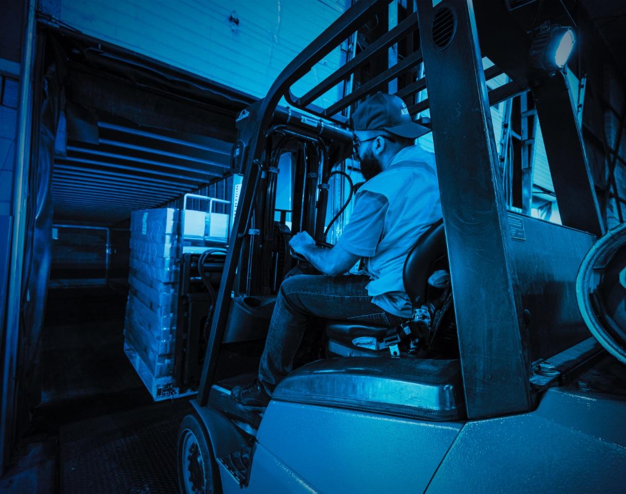 Transport de charges complètes | FTL | Dédouanement garanti